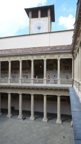 Galileo taught inside these walls of the University of Padua.