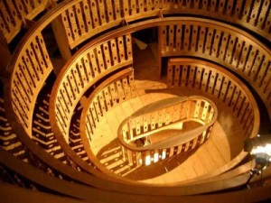 Anatomical theater at the University of Padua